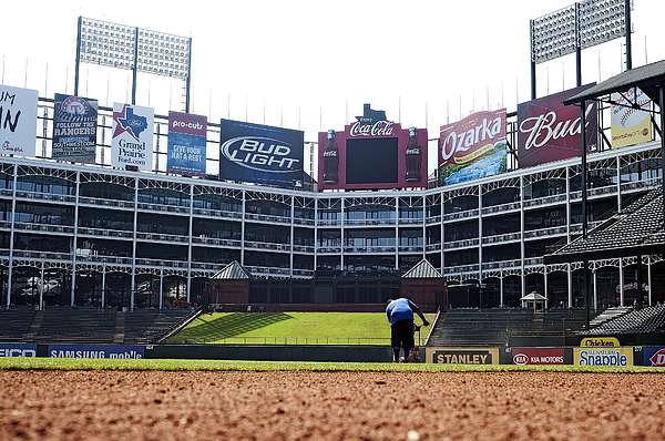 Home Photograph - View From Dugout by Malania Hammer