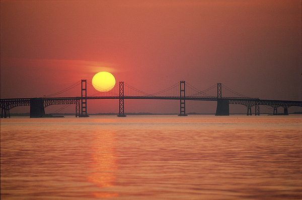 North America Photograph - View From The Water Of The Chesapeake by Kenneth Garrett