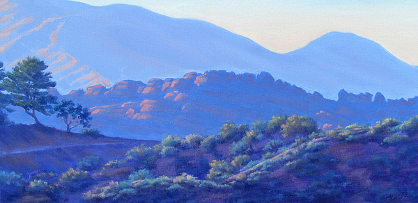 Painting Painting - View Of El Scorpion Park by Elena Roche