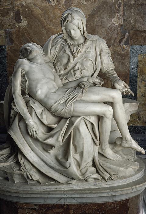 Europe Photograph - View Of Michelangelos Famous Sculpture by James L. Stanfield