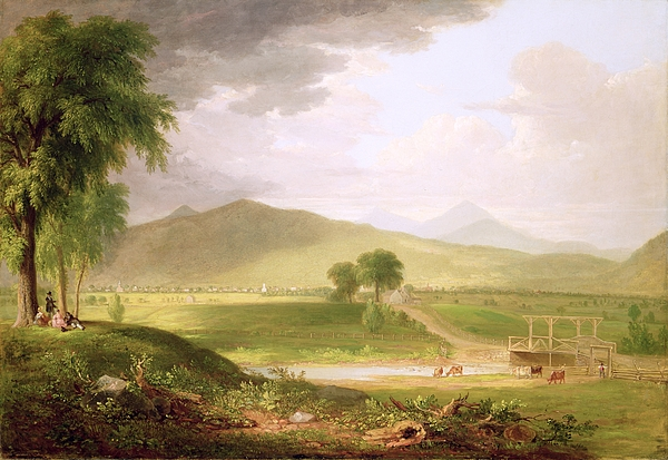 View Painting - View Of Rutland - Vermont by Asher Brown Durand