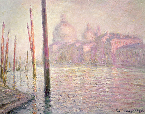 French Painting - View Of Venice by Claude Monet