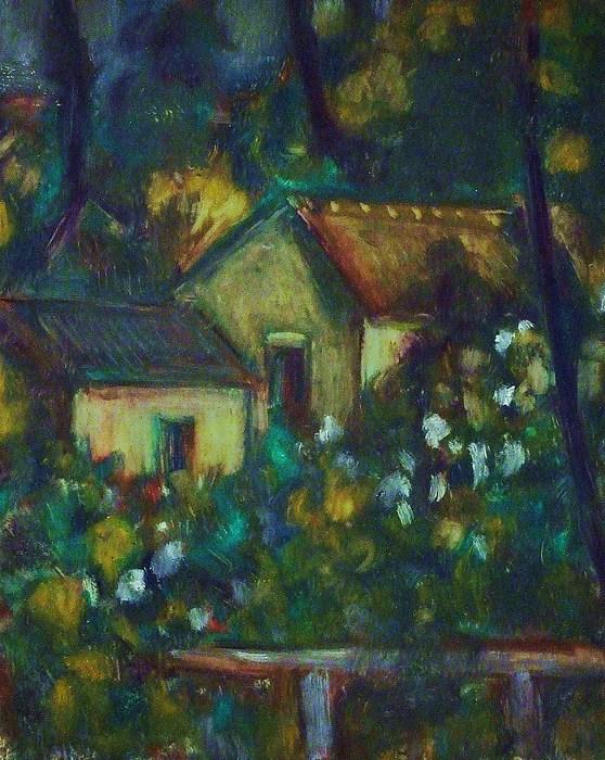 Landscape Painting - Villa Neska In Ciboure by Jean pierre  Harixcalde
