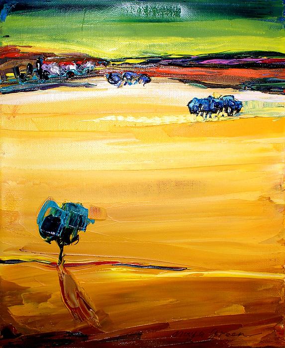 Artwork Painting - Village  by Maya Green