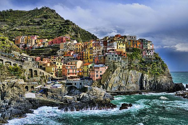 Europe Photograph - Village Of Manarola - Cinque Terre - Italy by JH Photo Service