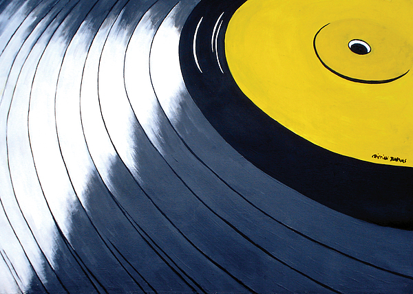 Vinilo Painting by Cristian Barnes