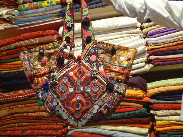 Patchwork Bags Tapestry - Textile - Vintage Bags And Handbags by Dinesh Rathi