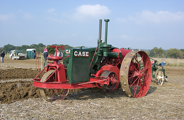 Agriculture Photograph - Vintage Case Tractor by Gerry Walden