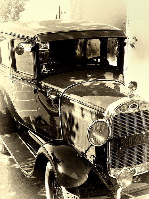 Old Car Photograph - Vintage Classic Ride by Julie Palencia