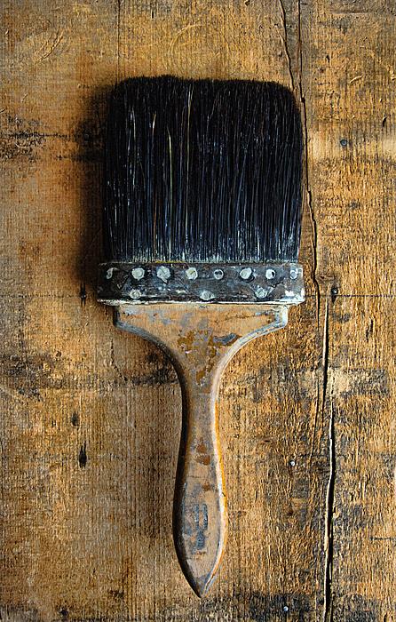 Paint Brush Photograph - Vintage Paint Brush by Jill Battaglia