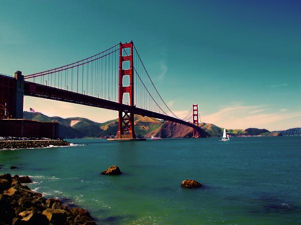 San Francisco Photograph - Vintage San Francisco by Niels Nielsen