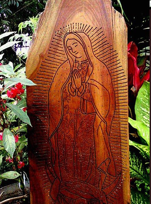 Virgen Relief - Virgen De Guadalupe by Calixto Gonzalez