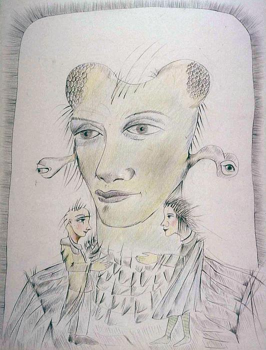 Metaphorical Drawing - Vision by Bert Menco