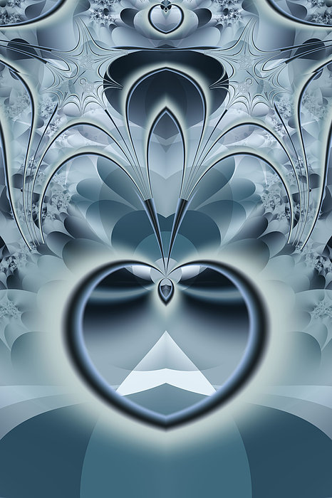 Fractal Digital Art - Vision by Frederic Durville