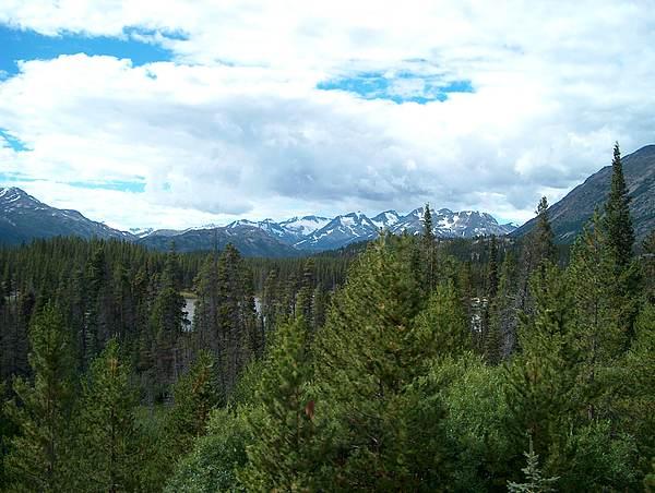 Alaska Photograph - Vistas Along The Alcan by Janet  Hall