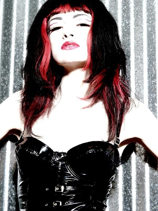 Goth Photograph - Vixen by Holly Pritchett