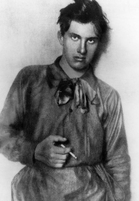 1910s Portrait Photograph - Vladimir Mayakovsky 1893-1930, Russian by Everett