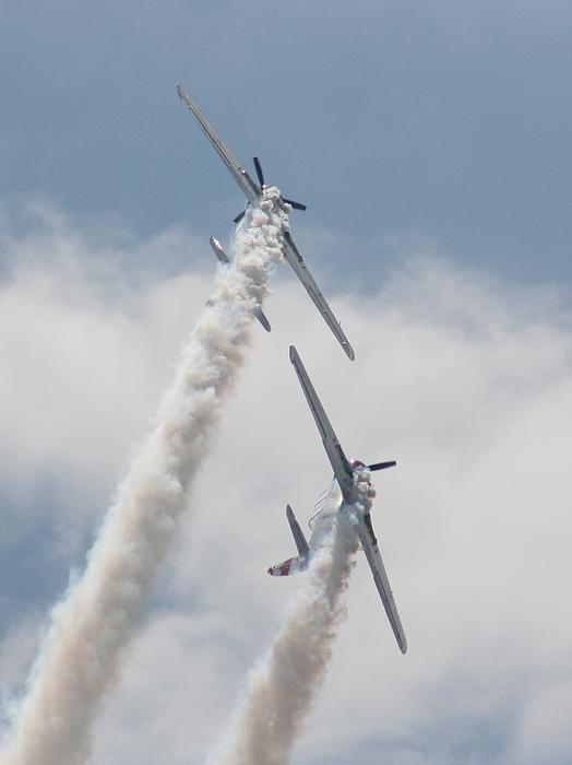 Plane Photograph - Wafb 09 Yak 52 Aerostar 3 by David Dunham