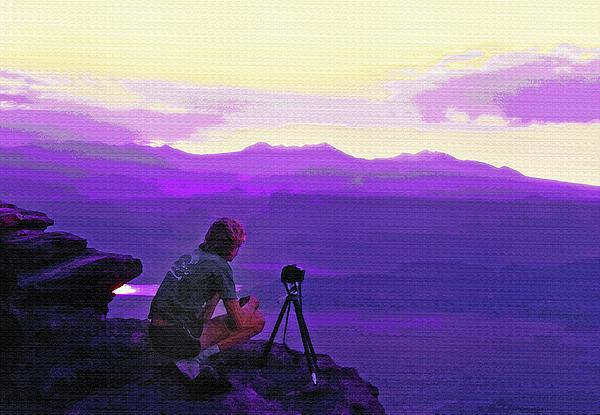 Waiting For The Sunrise - Dead Horse Point Utah Photograph by Steve Ohlsen