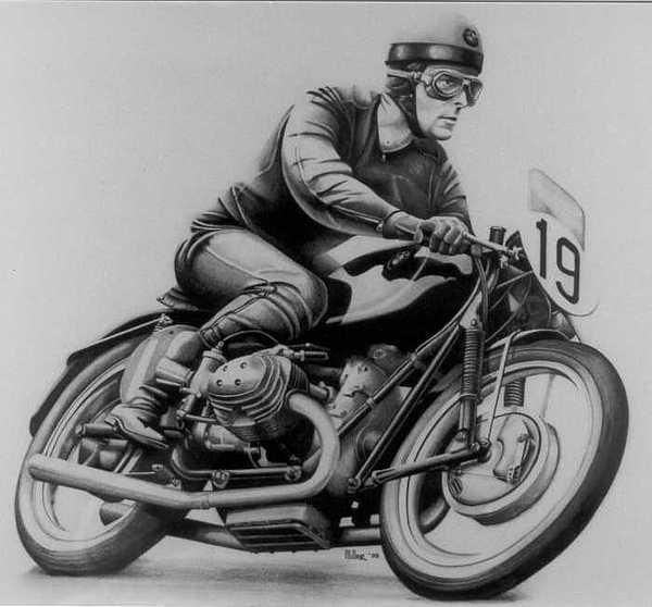 Walter Zeller Drawing by Harry Miller