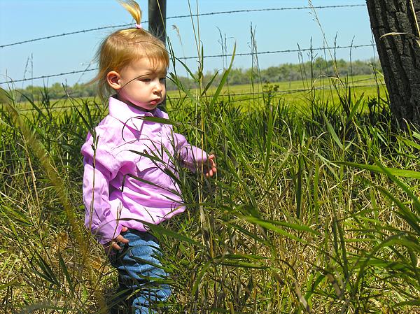 Child Photograph - Wandering 3 by Adam Vance