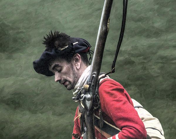 Battle Digital Art - War Weary French And Indian War Portrait by Randy Steele