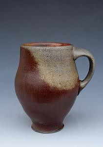 Pottery Ceramic Art - Warm Mug by Simon Levin