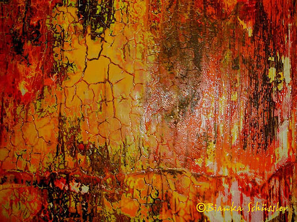 Warmth Painting by Bianka Schuessler