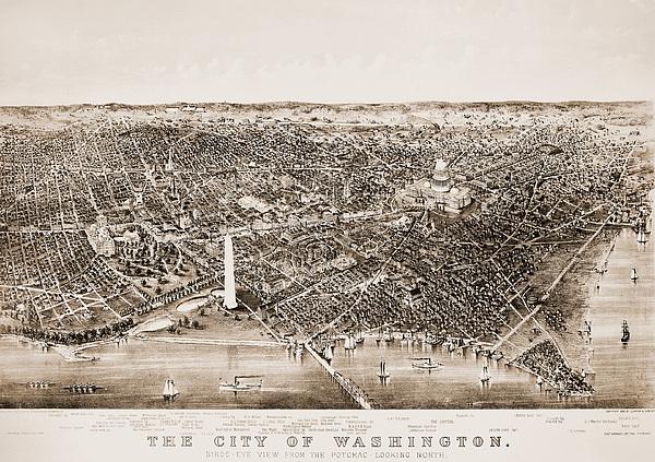 1892 Photograph - Washington D.c., 1892 by Granger