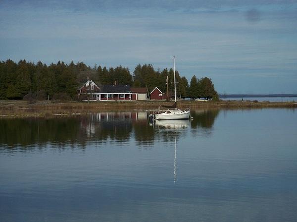 Washington Island Photograph - Washington Island Harbor 3 by Anita Burgermeister