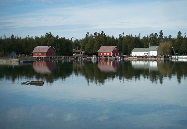 Washington Island Photograph - Washington Island Harbor 5 by Anita Burgermeister