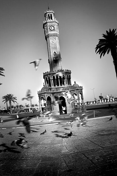 Izmir Photograph - Watch Tower by Kadir Murat Tosun