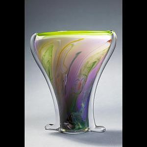 Water Ikebana Glass Art by Barrie Bredemeier