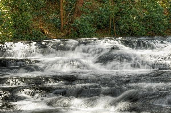 Waterfall Photograph - Waterfall03 by Svetlana Sewell