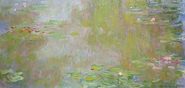 Waterlilies At Giverny Painting - Waterlilies At Giverny by Claude Monet