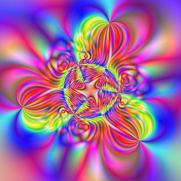 Abstract Digital Art - Wave 006a by Rolf Bertram