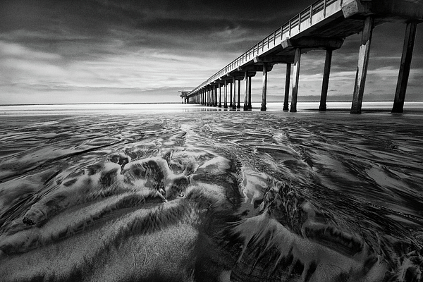 Scripps Photograph - Waves Of Sand by Ryan Weddle