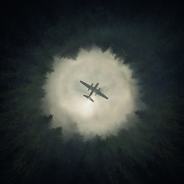 Airplane Digital Art - Way Out by Zoltan Toth