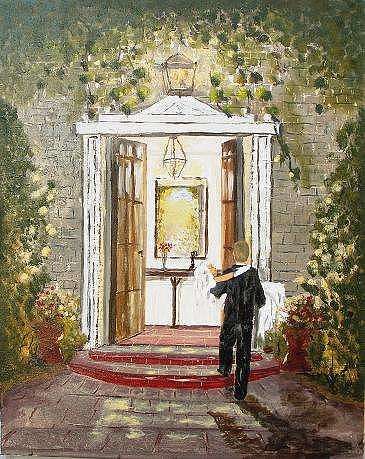 Welcome Home Painting - Welcome Home by Miroslaw Chelchowski