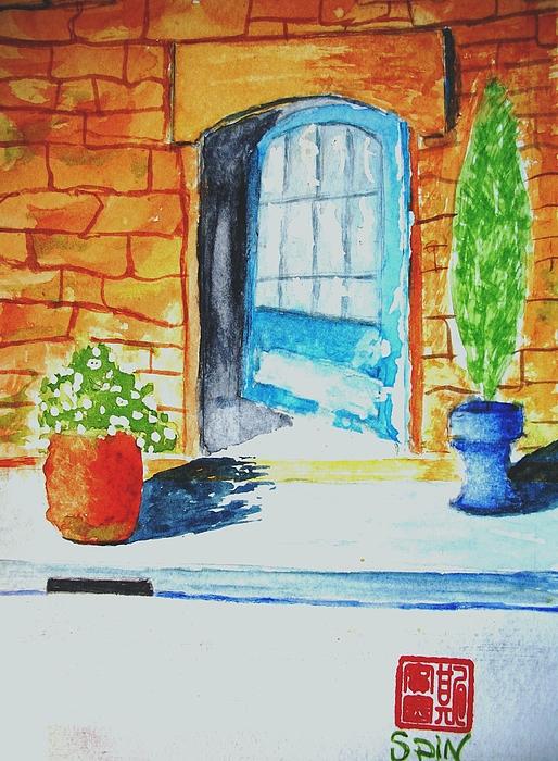 Door Painting - Welcome by Spencer  Joyner