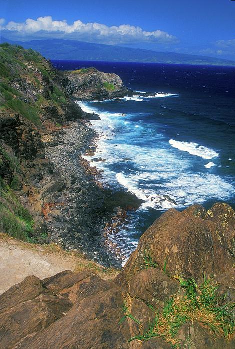 Hawaii Photograph - West Maui Coast by John Burk