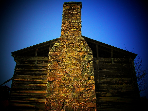 Chimney Photograph - West Virginia Chimney by Michael L Kimble