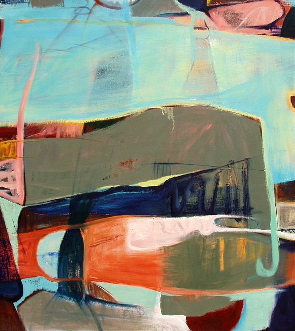 Abstract Expressionism Painting - Western 22 by David Peacey