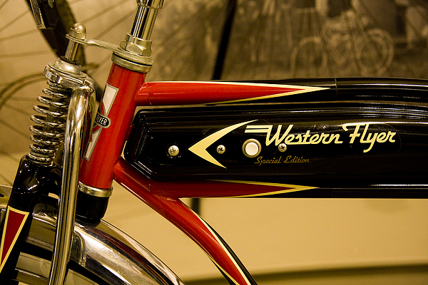 Bicycle Photograph - Western Flyer by Michael Friedman