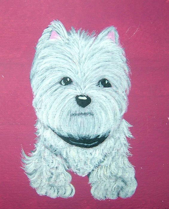 West Highland Terrier Painting - Westie by Tammy Brown