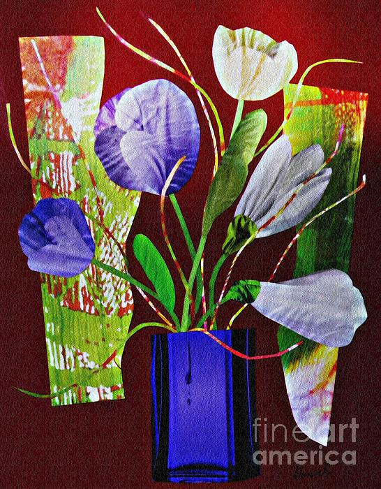 Floral Mixed Media - What Marie Left Behind by Sarah Loft