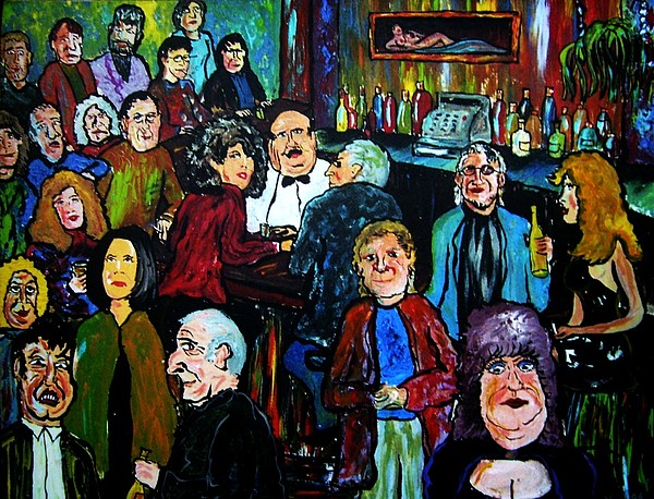 People Painting - What Took You So Long by Richard  Hubal