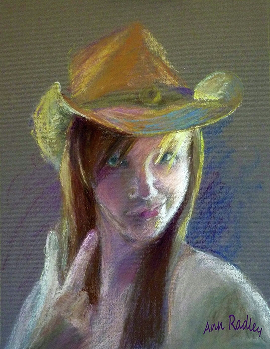 Portrait Painting - Whatever . . . . . . by Ann Radley