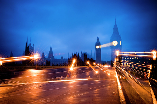 Big Ben Photograph - Whats The Point Of Light by Donald Davis