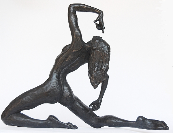 Gymnast Sculpture - Wheel by Daniel Baharier